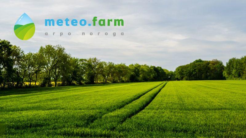 Аграріям стали доступні метеопрогнози для кожного поля в Україні
