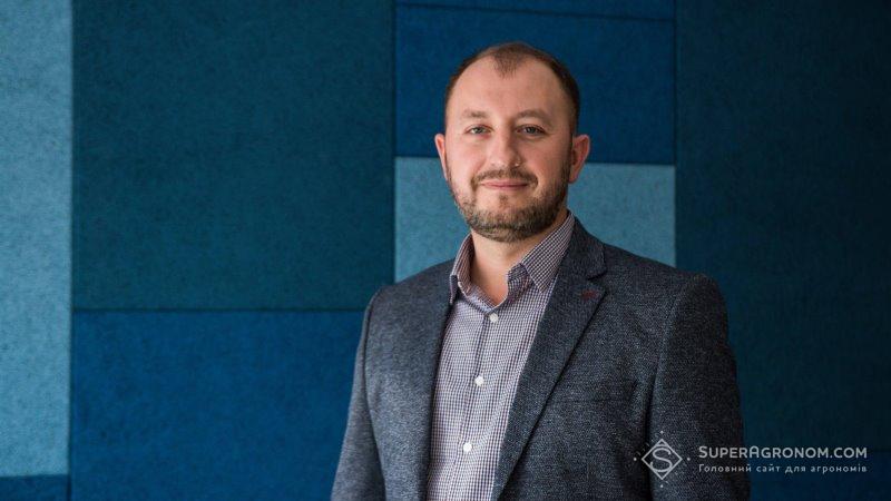 Віктор Марценюк, начальник агрохімічного відділу МХП