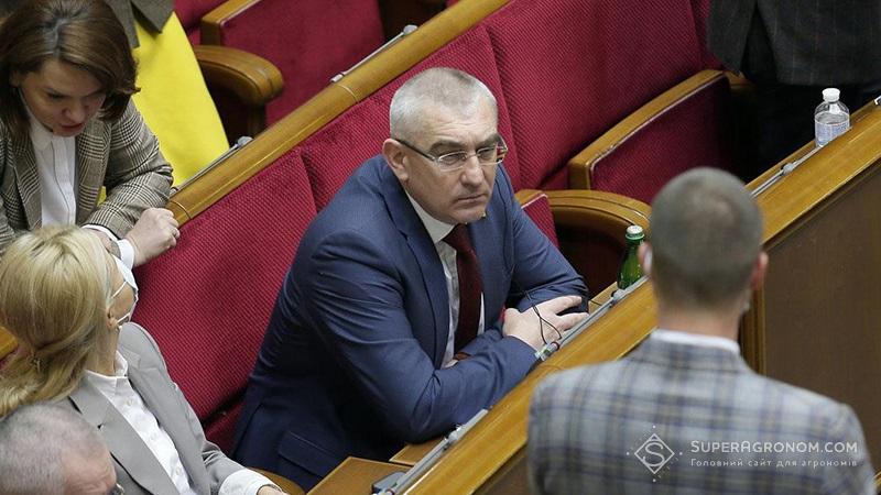 Іван Чайківський, секретар комітету ВРУ з питань аграрної та земельної політики