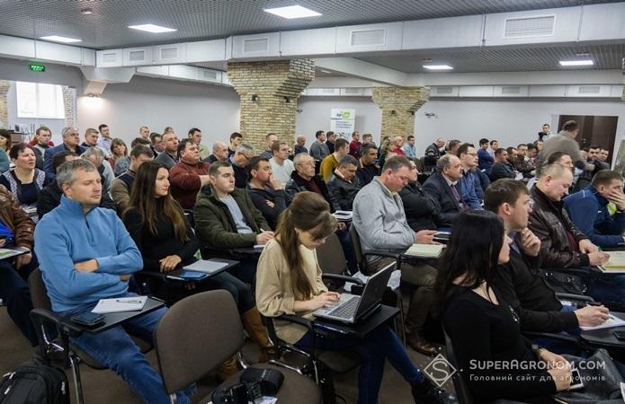 Конференція у приміщенні Всеукраїнської Аграрної Ради