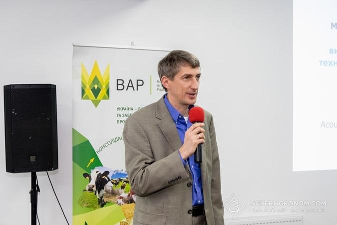 Петро Киверига, член Асоціації виробників сої, кандидат с/г наук