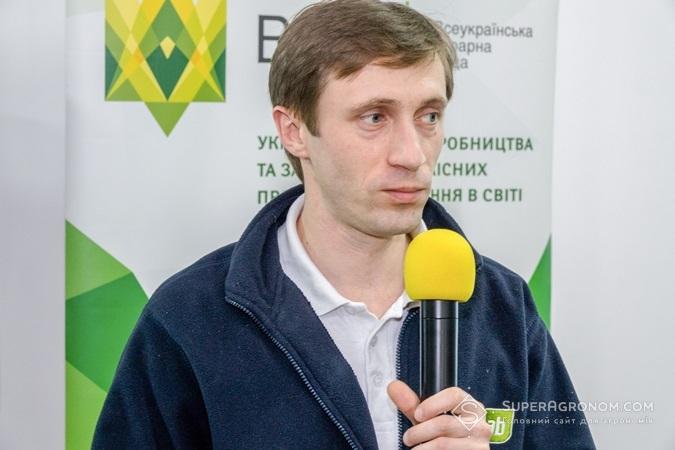 Володимир Махота, головний агрохімік компанії АгріЛаб