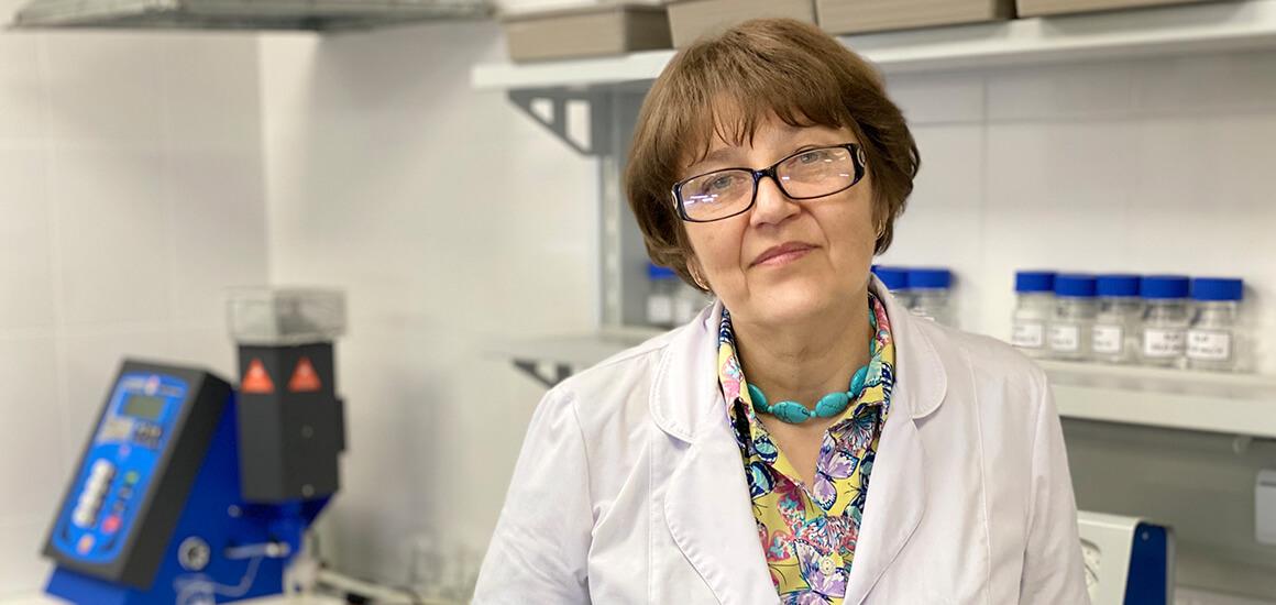 Світлана Корсун, завдувачка лабораторії агрохімічних досліджень
